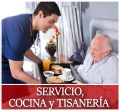 Resultado de imagen para Servicio, Ayudante de Cocina y Tisanería